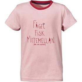Didriksons 1913 Krabban T-Shirt Kinder dusty pink